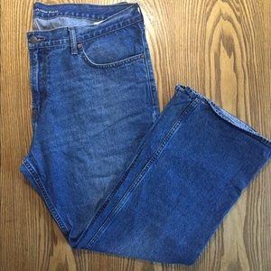 Old Navy Men's Boot Cut Denim Jeans 40x30